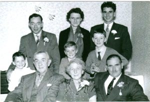 Mum and dad's wedding group2031
