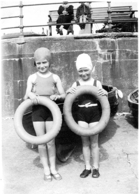 Elizabeth and Janet 1939