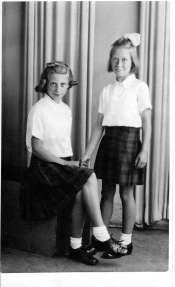 Elizabeth and Janet 1943